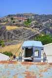 Meteora mountains in Greece Royalty Free Stock Photos