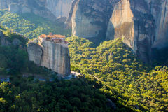 Meteora, Orthodox monastery in Greece Stock Photography