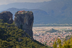 Meteora peaks in Greece Stock Images