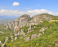 Meteora place panorama Royalty Free Stock Image