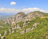 Meteora Platzpanorama Lizenzfreies Stockbild