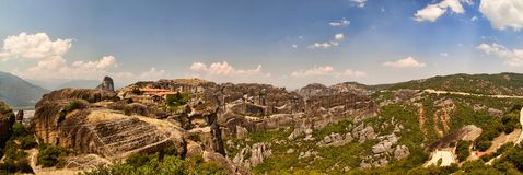 The Meteora Range Stock Photography