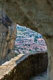Meteora region in Greece Royalty Free Stock Photo