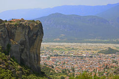 Meteora relief Royalty Free Stock Photography
