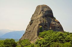 Meteora rock Royalty Free Stock Photos