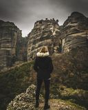 Meteora Greece Royalty Free Stock Photography