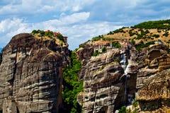 Meteora Rock Formations Stock Photos