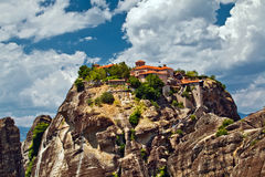 Meteora Rock Formations Royalty Free Stock Image