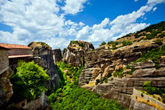 Meteora Rock Formations Stock Images