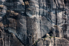 Meteora rock, nature stone background, Greece Royalty Free Stock Photography