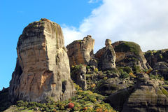 Meteora Rocks, Greece Stock Image