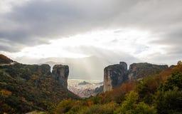 Meteora Rocks, Greece Royalty Free Stock Image