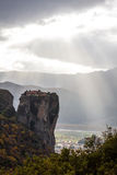 Meteora Rocks, Greece Royalty Free Stock Photos