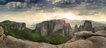 The Meteora Royalty Free Stock Photography
