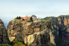 Meteora Rocks and Monasteries, Greece Stock Image
