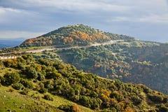 Meteora Rocks and Monasteries in Greece Stock Photos