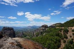 Meteora Rocks Stock Images