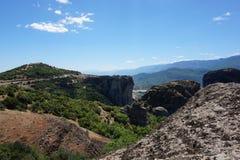 Meteora Rocks Royalty Free Stock Image