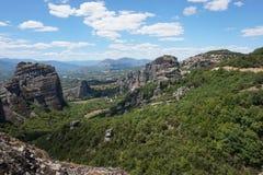 Meteora Rocks Stock Photography