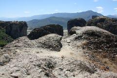 Meteora Rocks Stock Image