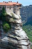 Meteora rocky monasteries Stock Image