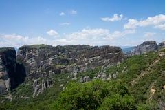 Meteora Roussanou Monastery , Greece. Meteora Roussanou Monastery, photo taken in Greece Royalty Free Stock Image