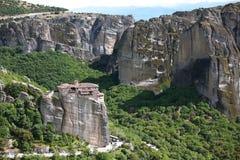 Free Meteora. Rusanov Monastery (St Barbara). Greece Royalty Free Stock Photography - 72361067