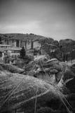 Meteora's monastery in Greece Royalty Free Stock Image
