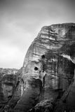 Meteora's rock in Greece Royalty Free Stock Image
