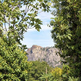 Meteora sikt Royaltyfri Bild