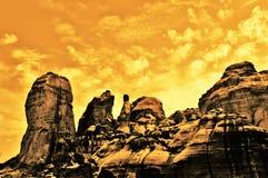 Meteora Stock Photo