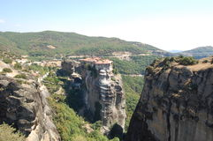 The Meteora in the summer Stock Photo