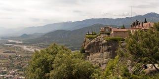 Meteora Thessaly Grekland Grekiska destinationer royaltyfria bilder