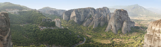 Meteora travel Royalty Free Stock Photo