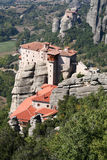Meteora in Trikala, Greece Royalty Free Stock Images