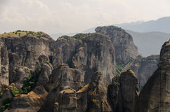 Meteora vaggar Royaltyfri Foto