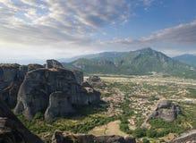 Meteora Valley Stock Photography