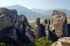 Meteora - valley of Monasteries. Stock Images