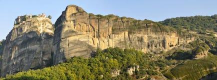 Meteora valley panorama Royalty Free Stock Photos