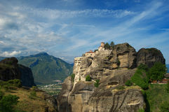 Meteora, Varlaam Monastery, Greece Stock Photos