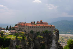Meteora Varlaam Monastery Royalty Free Stock Photography