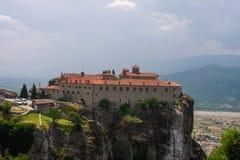 Meteora Varlaam Monastery Royalty Free Stock Photography