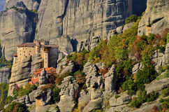 Meteora view Stock Image