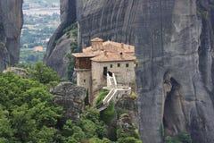 Meteoraklooster in Griekenland Royalty-vrije Stock Foto