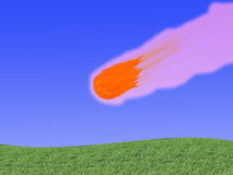 Meteorartiger Körper Stockfotos