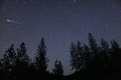 Meteoreldkula fotografering för bildbyråer