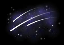 Meteoren stock abbildung
