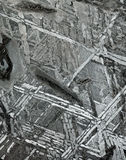 Meteorietstructuur Stock Afbeelding
