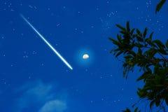 Meteorische nacht Royalty-vrije Stock Fotografie