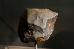 Meteorite del Chondrite fotografia stock libera da diritti